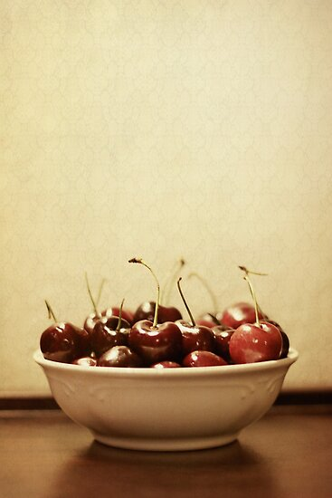 Bowl o' Cherries by Trish Mistric