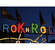 Rok n Rol Photographic Print