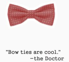 Bow ties are cool by Helenave