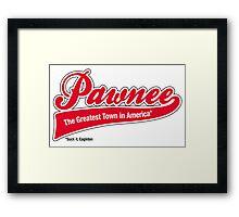 Pawnee (Parks & Recreation) Framed Print