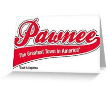 Pawnee (Parks & Recreation) Greeting Card