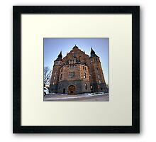 Nordiska museet side shot Framed Print