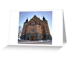 Nordiska museet side shot Greeting Card