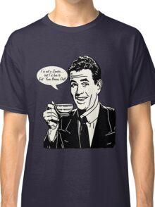 Retro Zombie Humor Classic T-Shirt