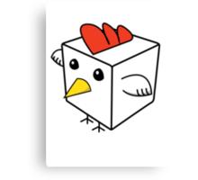 Cock Block Canvas Print