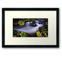 Tranquil stream02 Framed Print