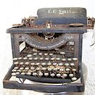 LC Smith typewriter by michael griffith
