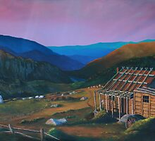 Country by Morning (oil) by Anthony Superina