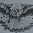 Magpie - Pencil Sketch by Anthony Superina
