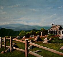 Country Escape (oil painting) by Anthony Superina