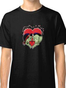 Psycho heart splat Classic T-Shirt