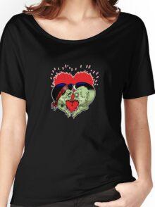 Psycho heart splat Women's Relaxed Fit T-Shirt