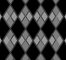 Gray & Black Checkers by mputrus