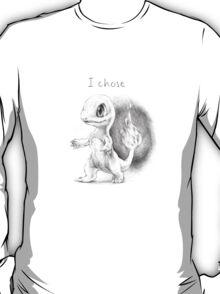 I chose Charmander T-Shirt