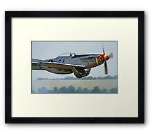 "P-51D Mustang ""Nooky Booky IV"" - Duxford Flying Legends 2013 Framed Print"
