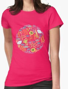 print Sea Womens Fitted T-Shirt
