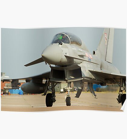 Eurofighter Typhoon 29(R) Sqn RAF Coningsby  Poster