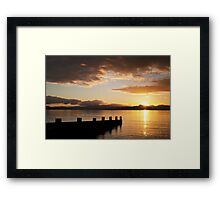 Sunrise over Wales Framed Print