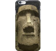Moai head iPhone Case/Skin