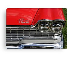 Chrome Bumper 08 Canvas Print