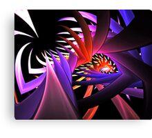 Complex Arrangement Canvas Print
