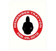 Remember Trayvon Art Print