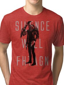Silence Will Fhtagn Tri-blend T-Shirt