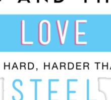 Kushiel's Legacy - Typography - Quote Sticker