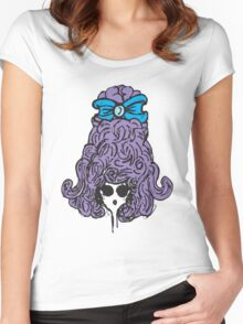Bow Peep Women's Fitted Scoop T-Shirt