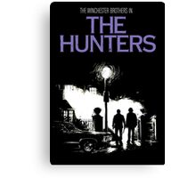 The Hunters (Supernatural & The Exorcist) Canvas Print