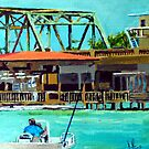 Last of the Carolina Swing Bridges by Jim Phillips