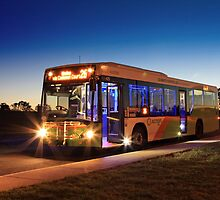 MAN low-floor city bus, ACTION, Canberra by Property & Construction Photography