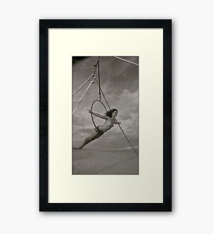 Lynda Sanderson Beach Camp Photo Comp #3 Framed Print