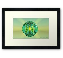 Warming Glow Framed Print