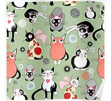 funny cats Poster