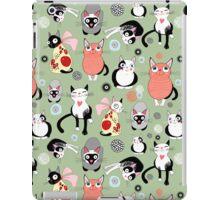 funny cats iPad Case/Skin