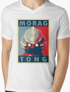 Morag Tong Mens V-Neck T-Shirt