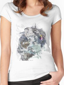 Wolf love Women's Fitted Scoop T-Shirt