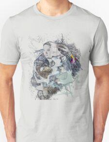 Wolf love Unisex T-Shirt