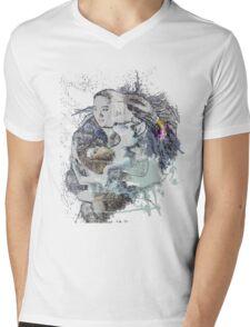 Wolf love Mens V-Neck T-Shirt