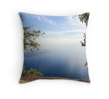 Majestic View from Sleeping Bear Dunes National Lakeshore Throw Pillow