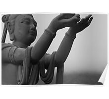 Offering to Big Buddha Poster