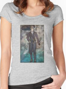 Steampunk America Women's Fitted Scoop T-Shirt