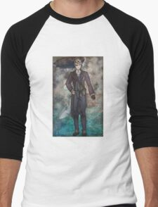 Steampunk America Men's Baseball ¾ T-Shirt