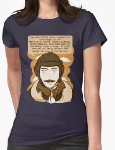RAF Banter sepia Womens Fitted T-Shirt