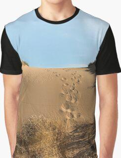 Chasing Kangaroos Graphic T-Shirt