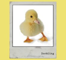 Duckling Polaroid One Piece - Short Sleeve
