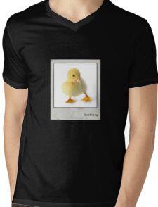 Duckling Polaroid Mens V-Neck T-Shirt