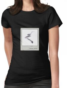 Carpet Python Polaroid Womens Fitted T-Shirt