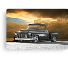 1956 Chevrolet Stepside Pick-Up Truck III Canvas Print